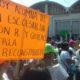 Padres de familia exigen reconstrucción de escuelas en Salina Cruz, Oaxaca