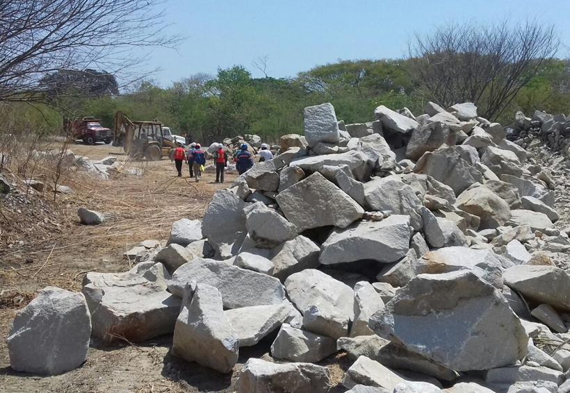 Reactivan la extracción de material pétreo en Salina Cruz, Oaxaca   El Imparcial de Oaxaca