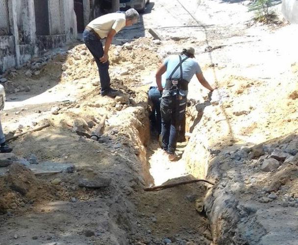 Resuelven problema de agua  negras que afectaba a vecinos de Salina Cruz, Oaxaca