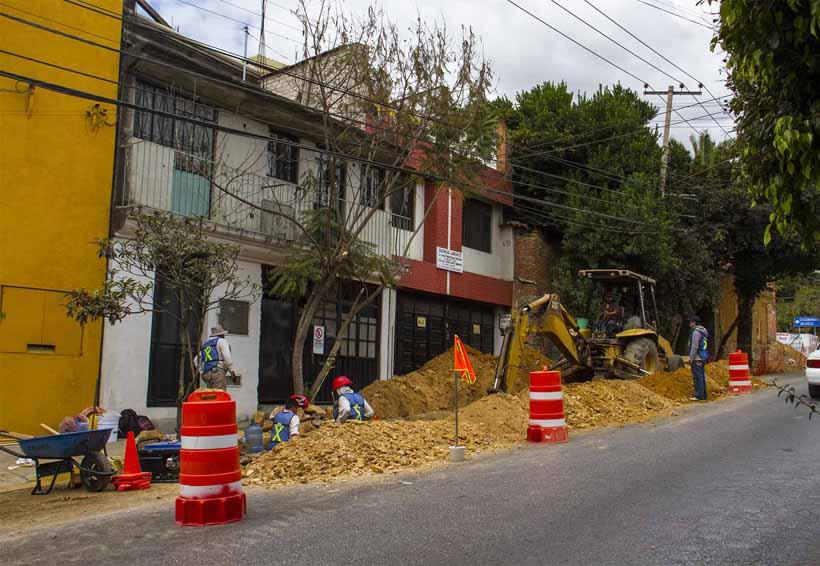 SAPAO rehabilita obras de  conducción y distribución