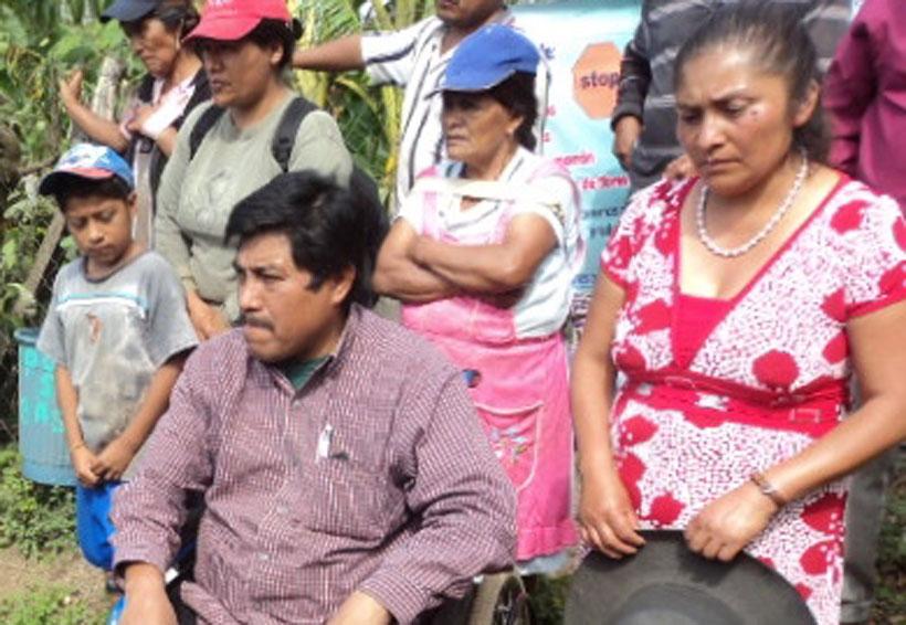 Sin poder trabajar, herido de Nochixtlán, Oaxaca