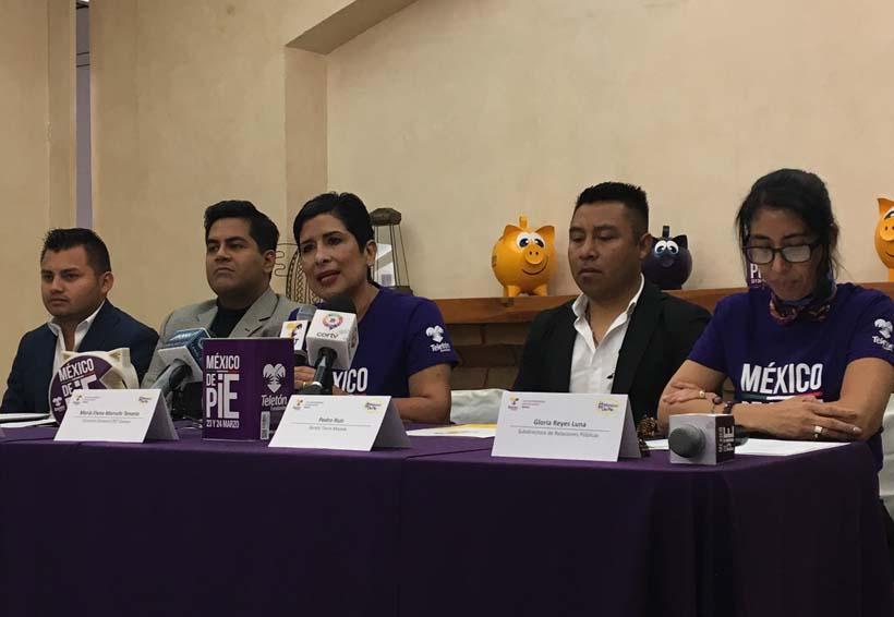 Anuncian Moletón 2018 en apoyo al Teletón en Oaxaca | El Imparcial de Oaxaca