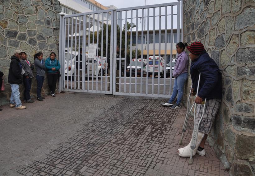 Sigue paro en Hospital Civil de Oaxaca | El Imparcial de Oaxaca