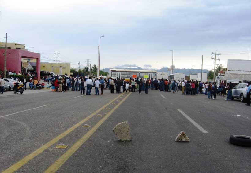 Va la S-22 a  paro de tres días en el Istmo de Oaxaca | El Imparcial de Oaxaca
