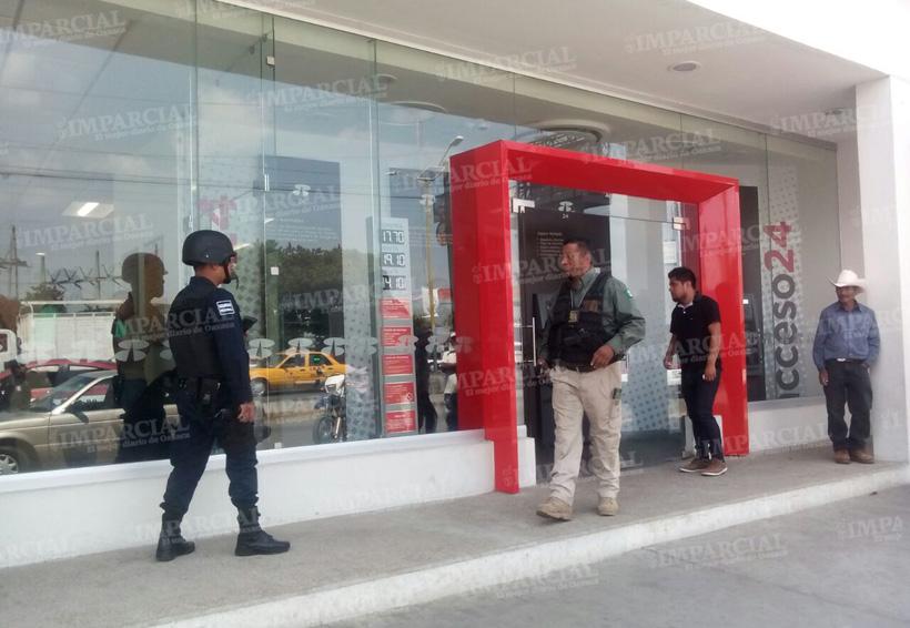 Violento asalto a sucursal bancaria en Oaxaca | El Imparcial de Oaxaca