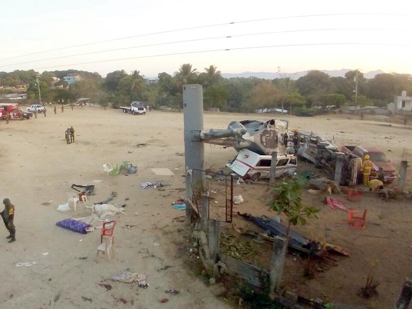 Siguen internados 5 menores heridos por 'helicopterazo' de Jamiltepec | El Imparcial de Oaxaca