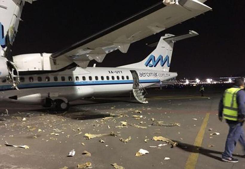 Chocan dos aviones en el aeropuerto de la CDMX | El Imparcial de Oaxaca
