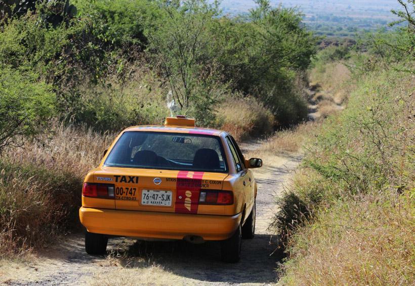 Golpea inseguridad al gremio de taxistas en Oaxaca | El Imparcial de Oaxaca