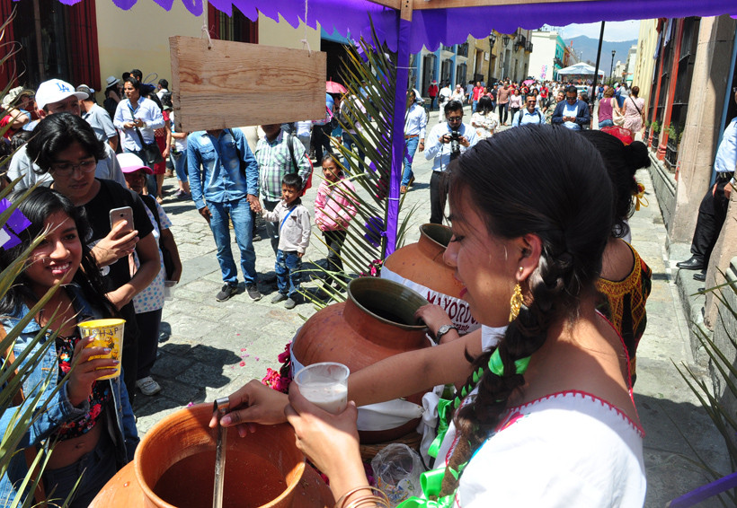 Se viste Oaxaca de samaritanas