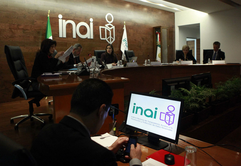 INAI afirma que veda electoral no interrumpe deberes de transparencia | El Imparcial de Oaxaca