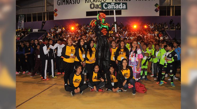 Comenzó la fiesta deportiva | El Imparcial de Oaxaca