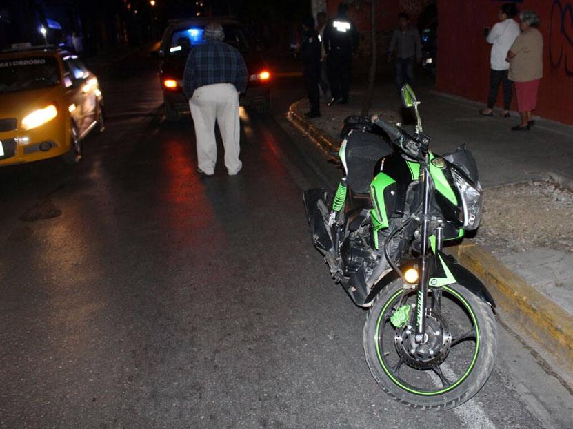 Por exceso de velocidad choca en calles céntricas de Oaxaca | El Imparcial de Oaxaca