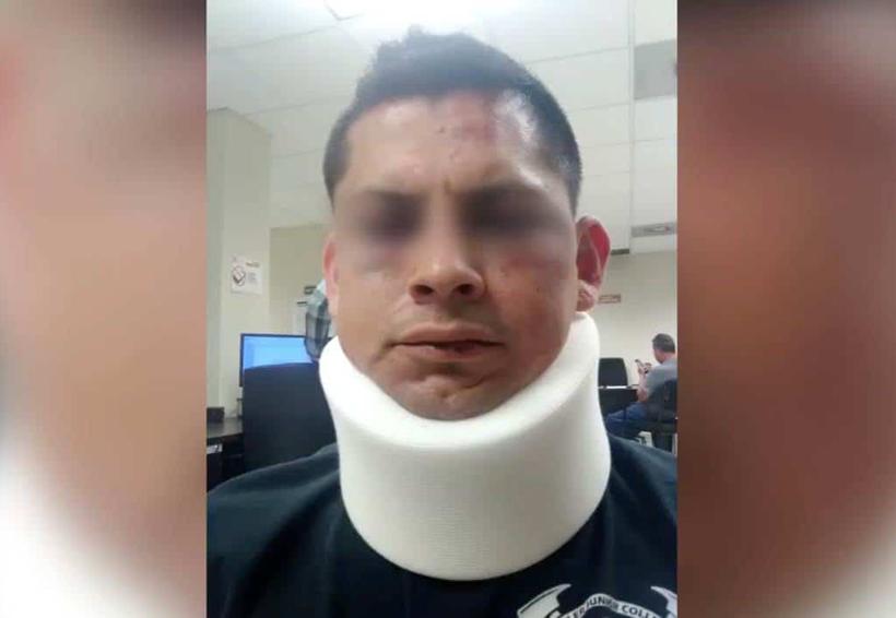 Video; Vecinos golpean a policía | El Imparcial de Oaxaca