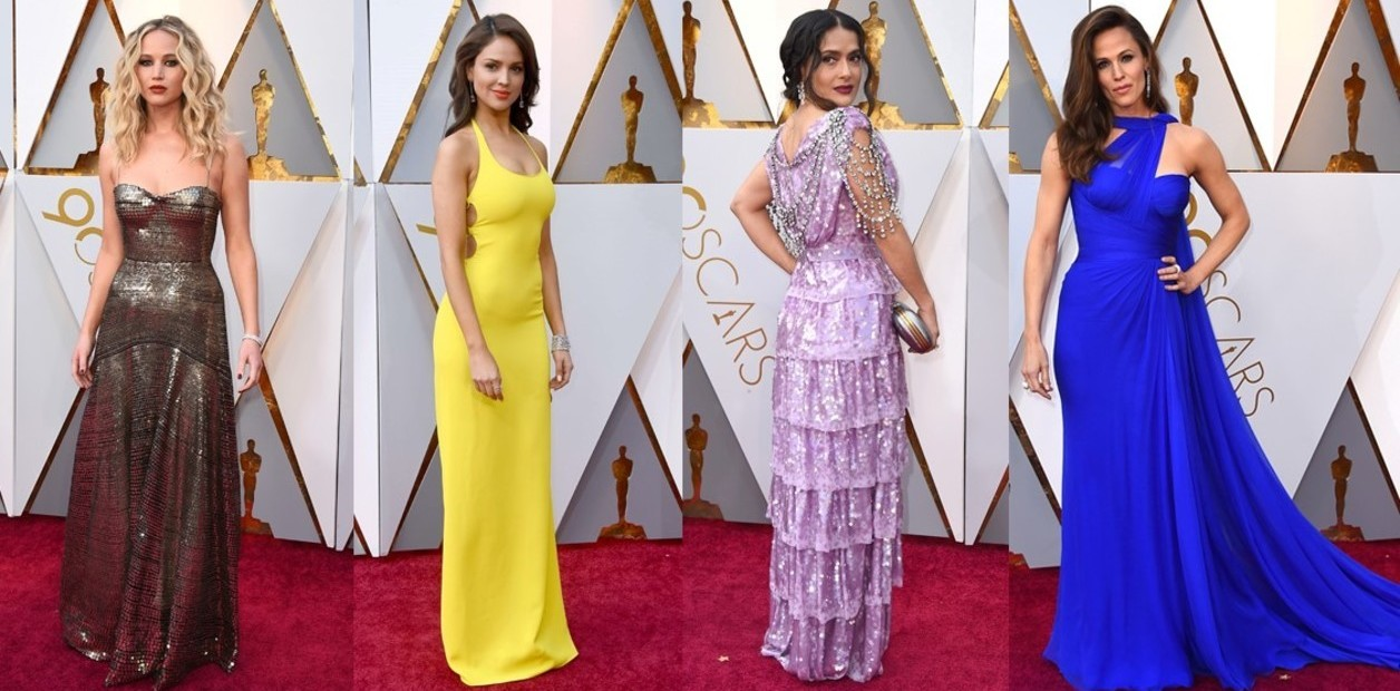 Estos fueron los looks de la alfombra roja de los Premios Oscar 2018 | El Imparcial de Oaxaca