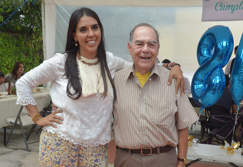 Don  José Luis cumple 80 anos