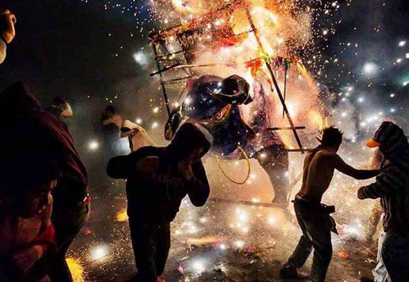 Explosión durante Feria Nacional de la Pirotecnia | El Imparcial de Oaxaca