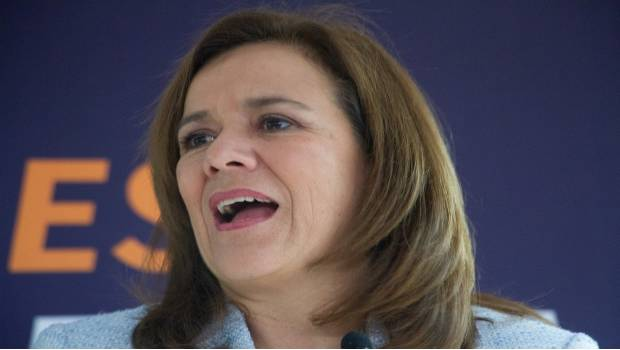 Zavala asegura que de los 5 candidatos, es la que más sabe sobre seguridad | El Imparcial de Oaxaca
