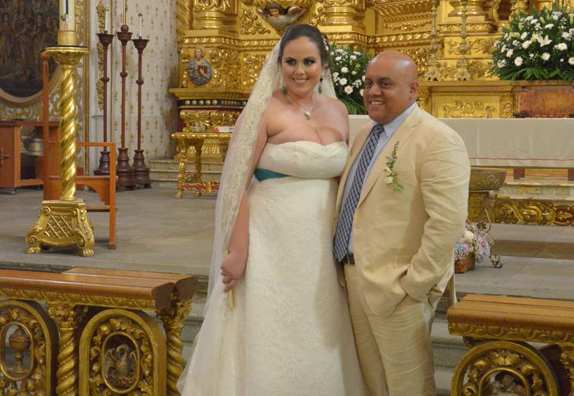 Isabel  y Roberto se dan el sí