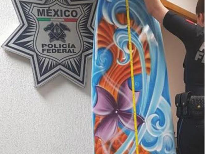 Aseguran en AICM tabla de surf rellena de metanfetamina | El Imparcial de Oaxaca
