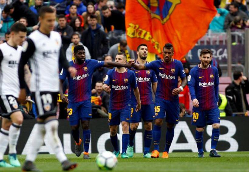 El Barcelona rompe récord contra el Valencia; 2-1 | El Imparcial de Oaxaca