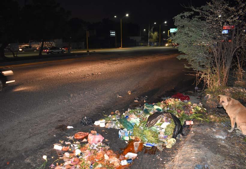 37 hombres en Oaxaca contra 100 toneladas de basura