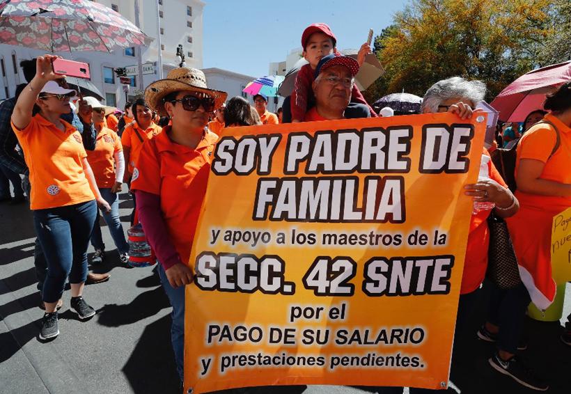 Maestros de Chihuahua anuncian paro indefinido de labores por adeudos del Estado | El Imparcial de Oaxaca