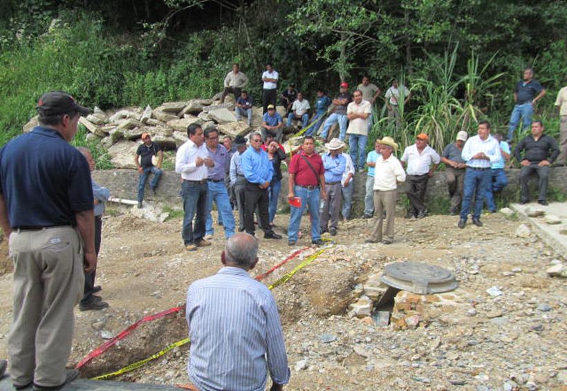 Reconstruyen puente colapsado por huracán en Huautla, Oaxaca | El Imparcial de Oaxaca