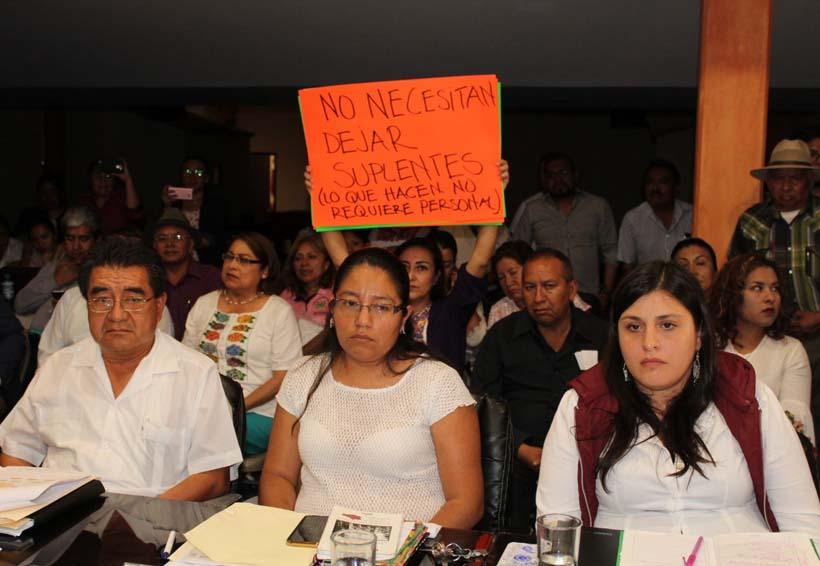 Abandonan su cargo cuatro  funcionarios de Huajuapan de León, Oaxaca