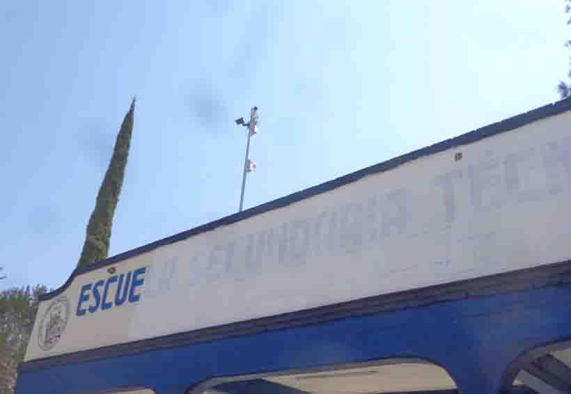 Colocan cámaras  de vigilancia en la  secundaria de Tlaxiaco, Oaxaca | El Imparcial de Oaxaca