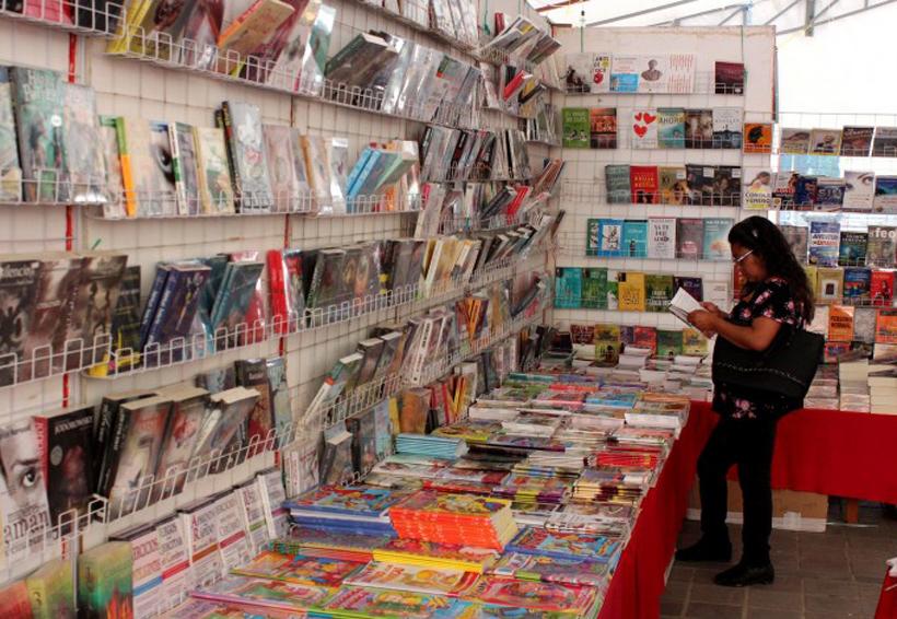 Concluye Feria  del libro infantil  en Oaxaca con bajas ventas