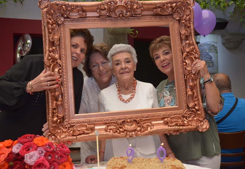 Doña Gloria  cumplió 90 años