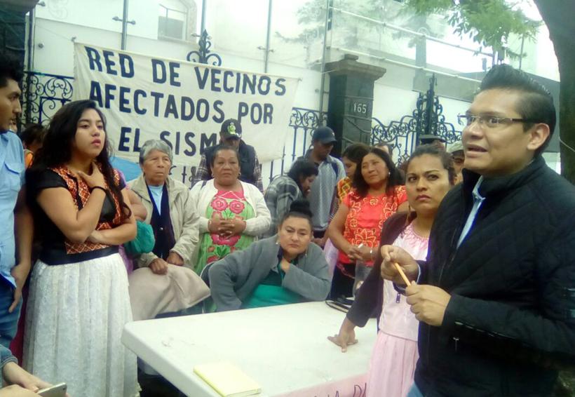 Damnificados del Istmo logran acuerdos y  levantan ayuno en Ciudad de México | El Imparcial de Oaxaca