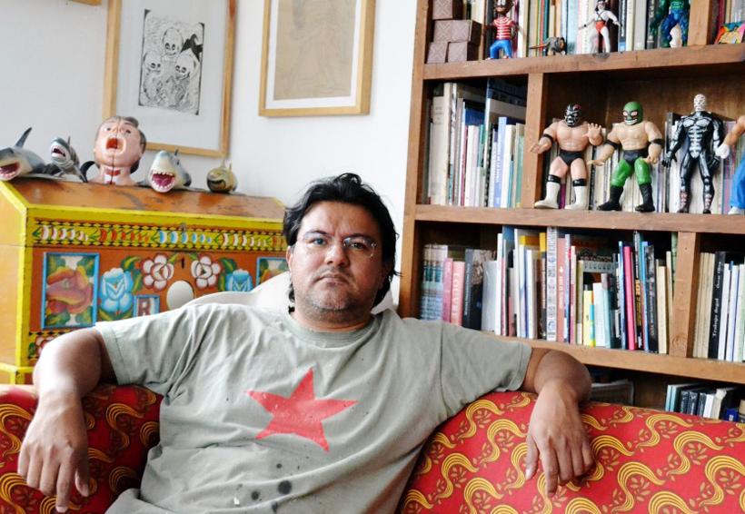 Demián Flores  celebra a Oaxaca con su obra Flora