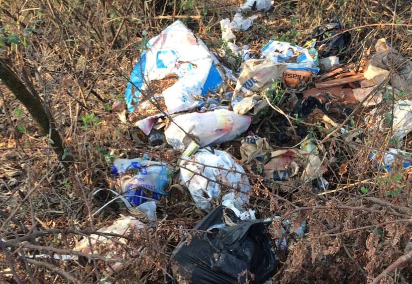 Denuncian tiradero de  basura a cielo abierto en Oaxaca