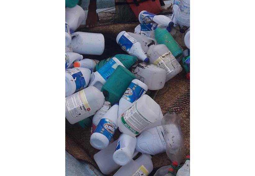 Derrame de  hidrocarburo en la Costa de Oaxaca