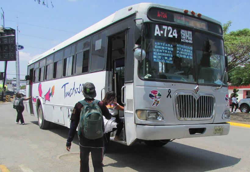 Se defienden usuarios contra aumento de pasaje en Oaxaca | El Imparcial de Oaxaca