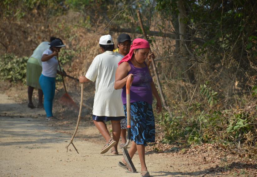 El tequio en comunidades afros
