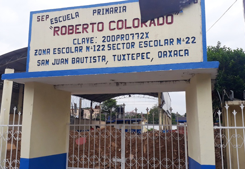 Esperan conclusión  de nueve aulas en Tuxtepec, Oaxaca