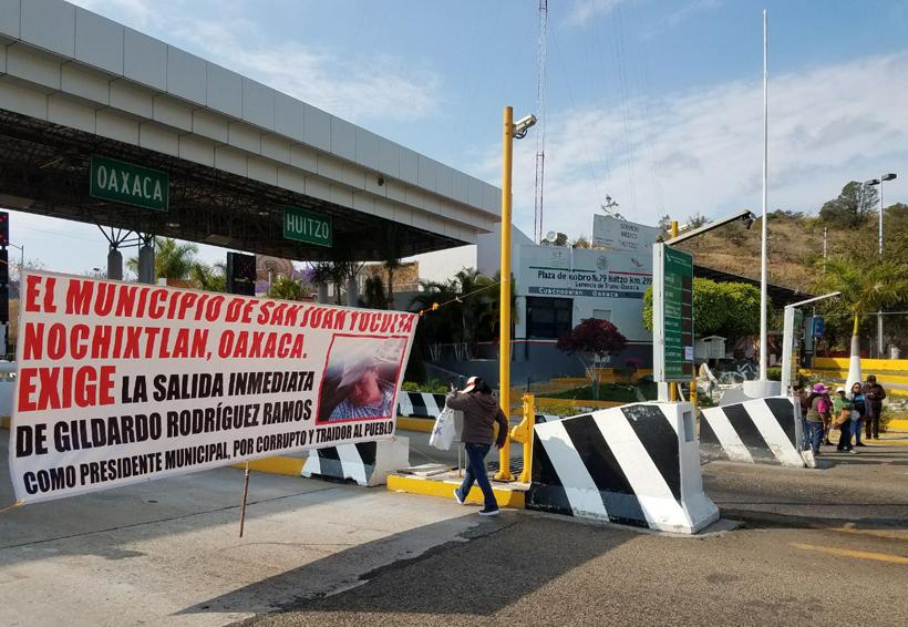 Habitantes de de San Juan Yucuita exigen celeridad en  revocación de mandato