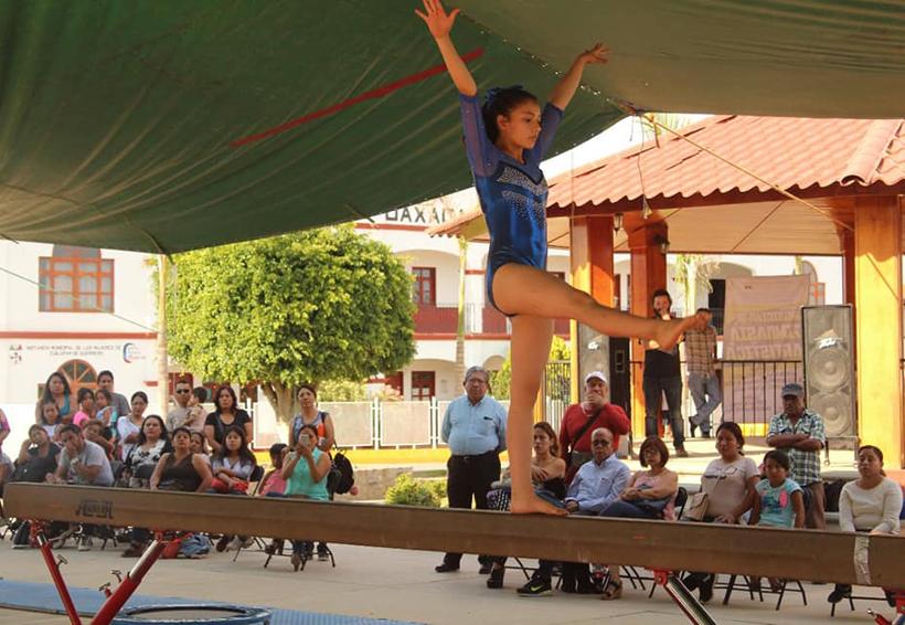 Arabesca dio cátedra de gimnasia artística | El Imparcial de Oaxaca