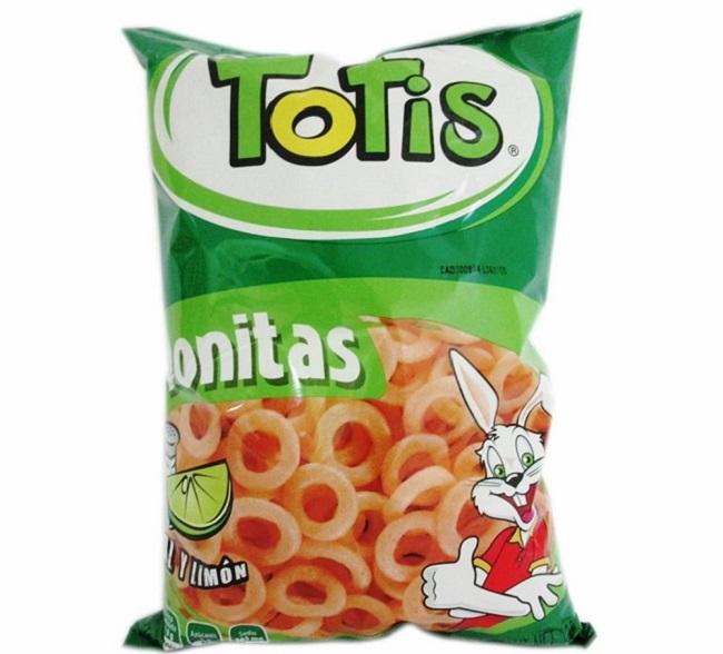 La empresa de aros de trigo fritos Totis se declara en quiebra