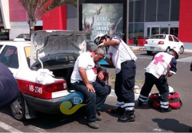 En violento asalto golpean a taxista en calles | El Imparcial de Oaxaca