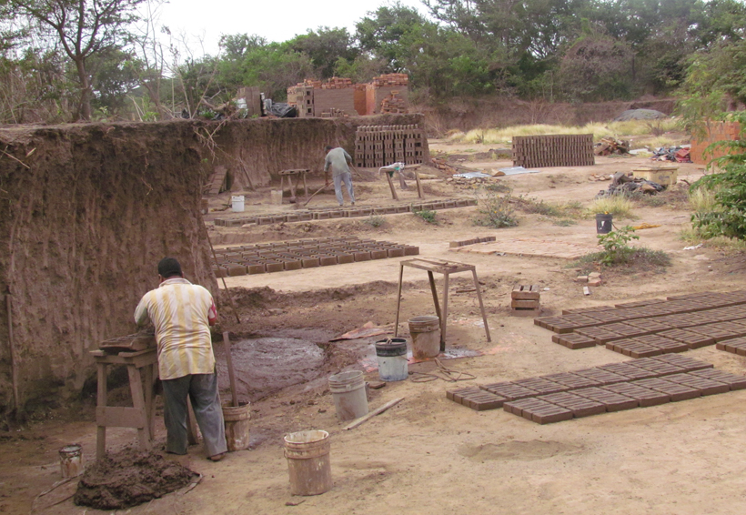 Ladrilleras,  un modo de vida en el Istmo de Oaxaca