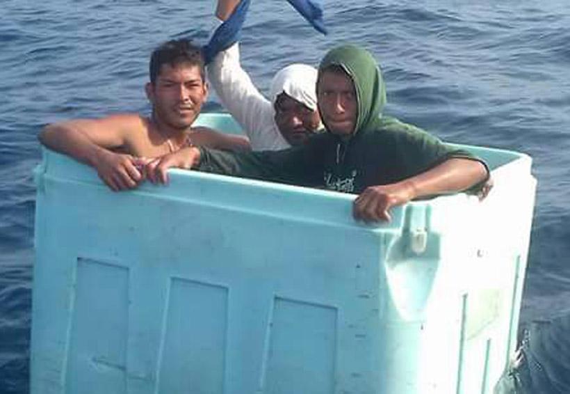 Rescatan a tiburoneros de Puerto Ángel, Oaxaca | El Imparcial de Oaxaca