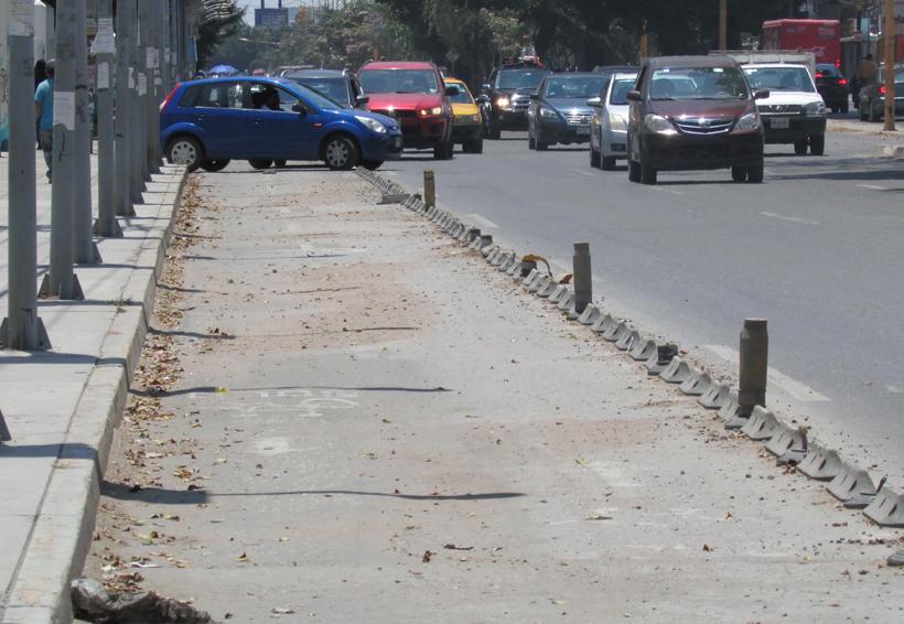 Oaxaca sin ciclovías adecuadas