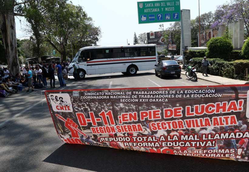 Bloquea Sección 22 carreteras en Oaxaca | El Imparcial de Oaxaca