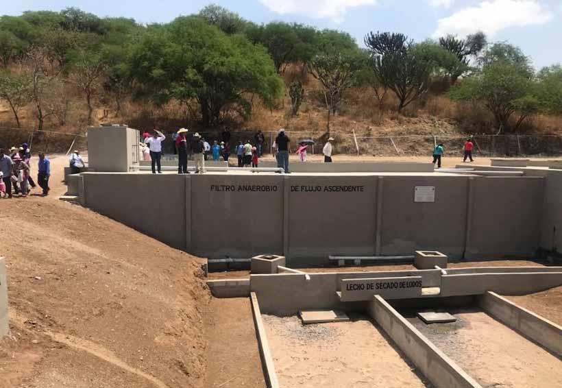 Por fin, cuenta Santiago Chazumba con  nueva planta de tratamiento | El Imparcial de Oaxaca