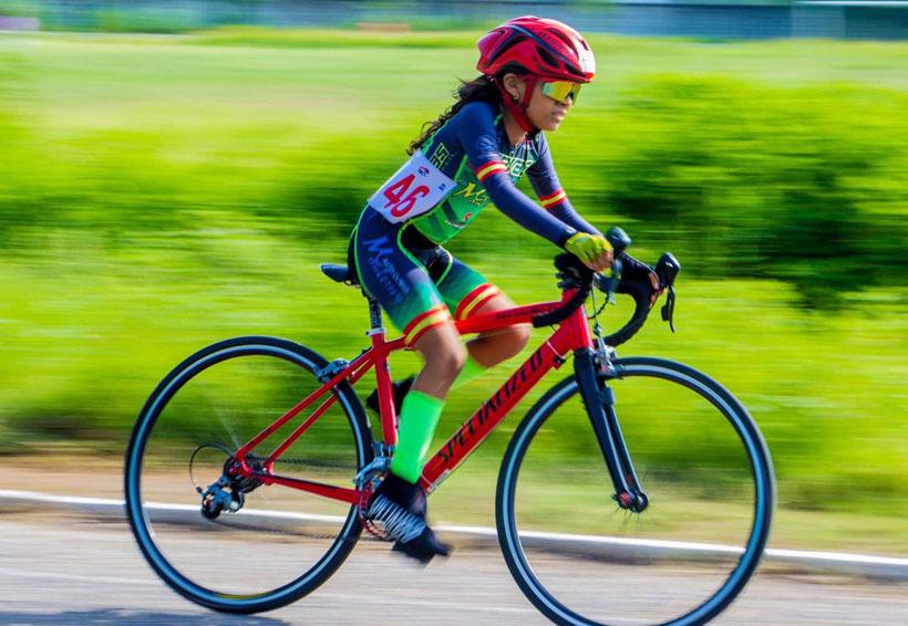 Shekinah Dehesa, ciclista infantil oaxaqueña a la conquista de Colombia | El Imparcial de Oaxaca