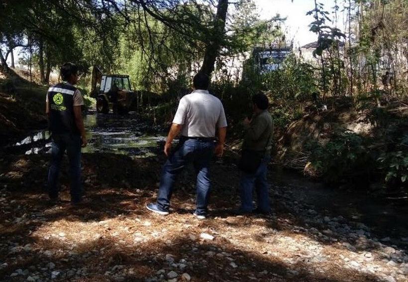 Siguen las acciones  para evitar daños por  lluvia en Tlaxiaco, Oaxaca