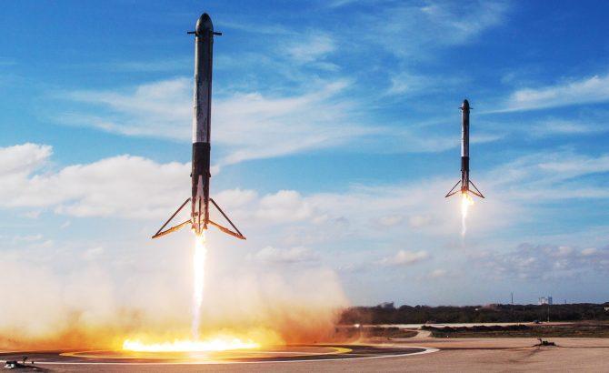 """SpaceX quiere recuperar sus cohetes utilizando """"globos de fiesta gigantes""""   El Imparcial de Oaxaca"""